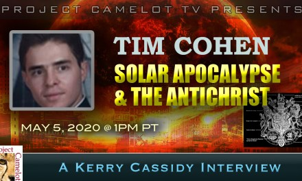 TIM COHEN:  SOLAR APOCALYPSE & THE ANTICHRIST