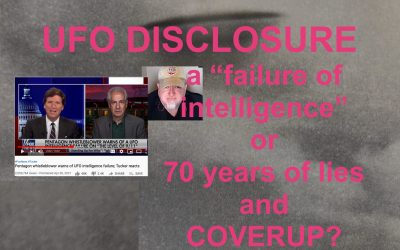 UFO COVERUP:  NO FAILURE OF INTELLIGENCE:  PUTTING THE SPIN ON DISCLOSURE