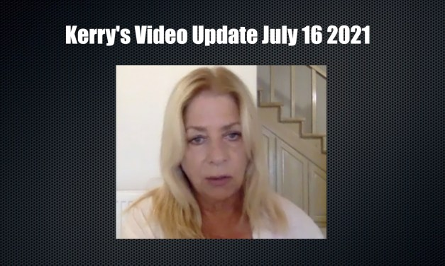 KERRY'S LATEST VIDEO BLOG UPDATE FROM CORFU