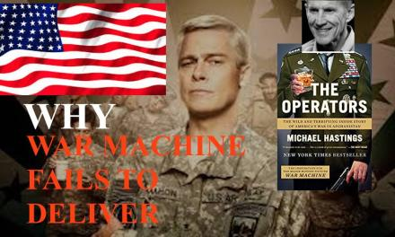 WHY 'WAR MACHINE' FAILS TO DELIVER