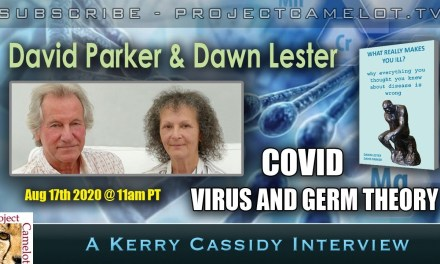 DAWN LESTER AND DAVID PARKER:  COVID, VIRUS AND GERM THEORY