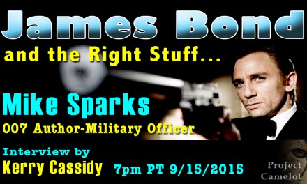 MIKE SPARKS :  JAMES BOND & THE RIGHT STUFF – INTERVIEW