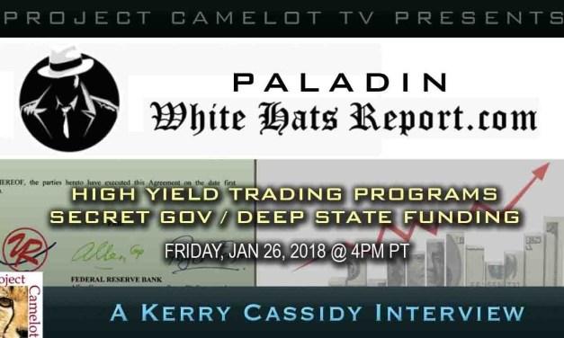 TRADING PROGRAMS:  SECRET GOV/ DEEP STATE FUNDING – WHITE HATS REPORT