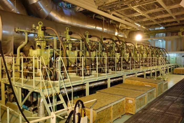 A visit to the engine room