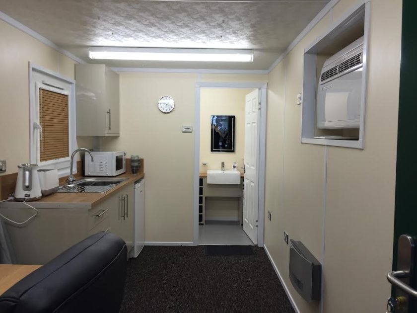 Picture for the high end internal 20ft office