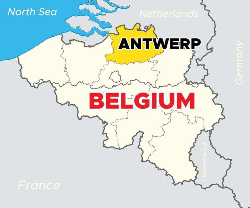 Belgium-showing-where-is-Antwerp