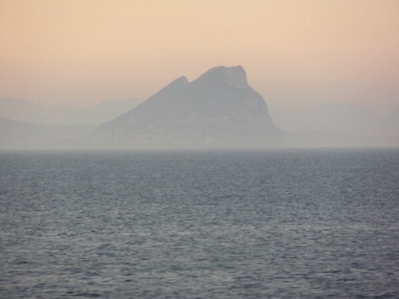 Lion's rock of Gibraltar