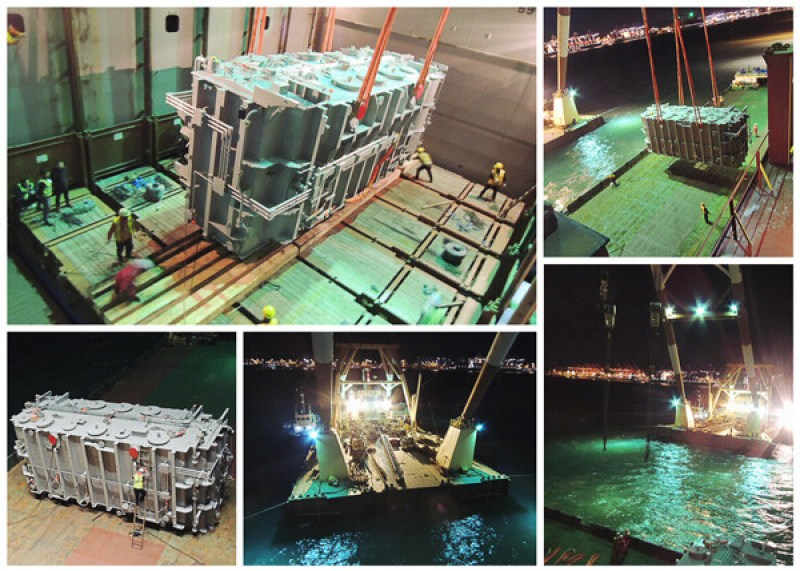 335 Metric Ton Transformer Shipped by Container Vessel