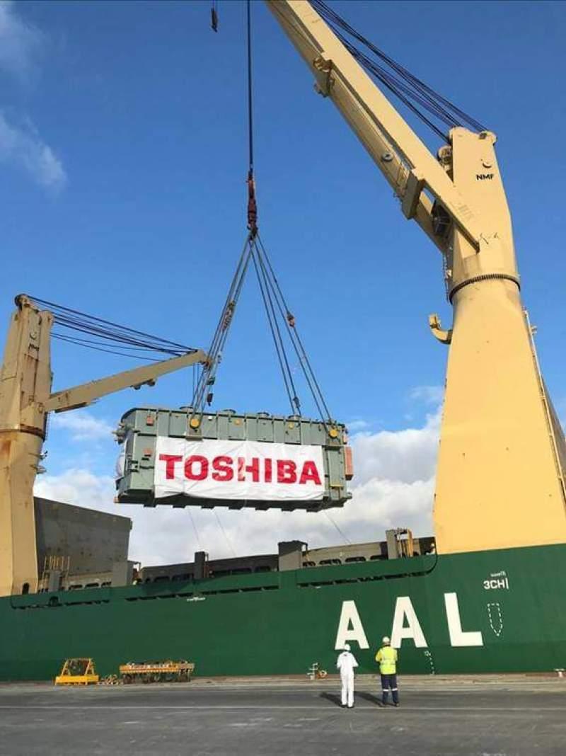 Toshiba transformer transport to australia.