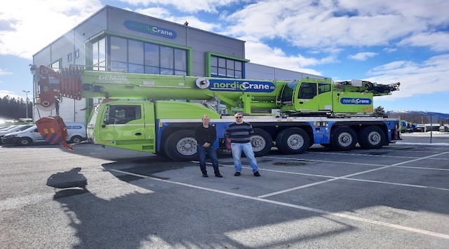 Nordic Crane Midt-Norge adds Demag