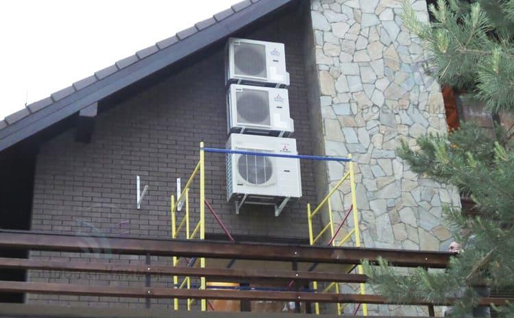 Можно ли отапливать дом сплит системой в круглогодичном режиме