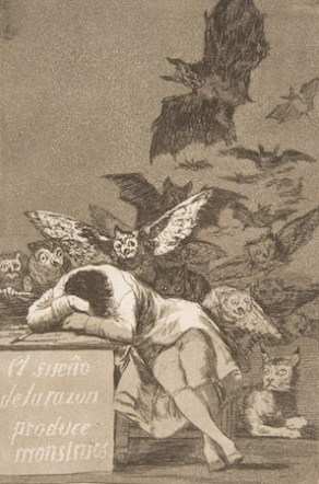 Francisco Goya, Monsters, sleep paralysis, the hag, oubliette, project dreamscape