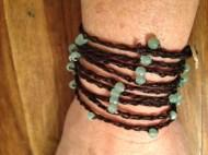 Hemp Aventurine Wrap Bracelet Projecteasier.com