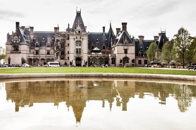 Biltmore and its reflection in the reflecting pool NotSoSAHM