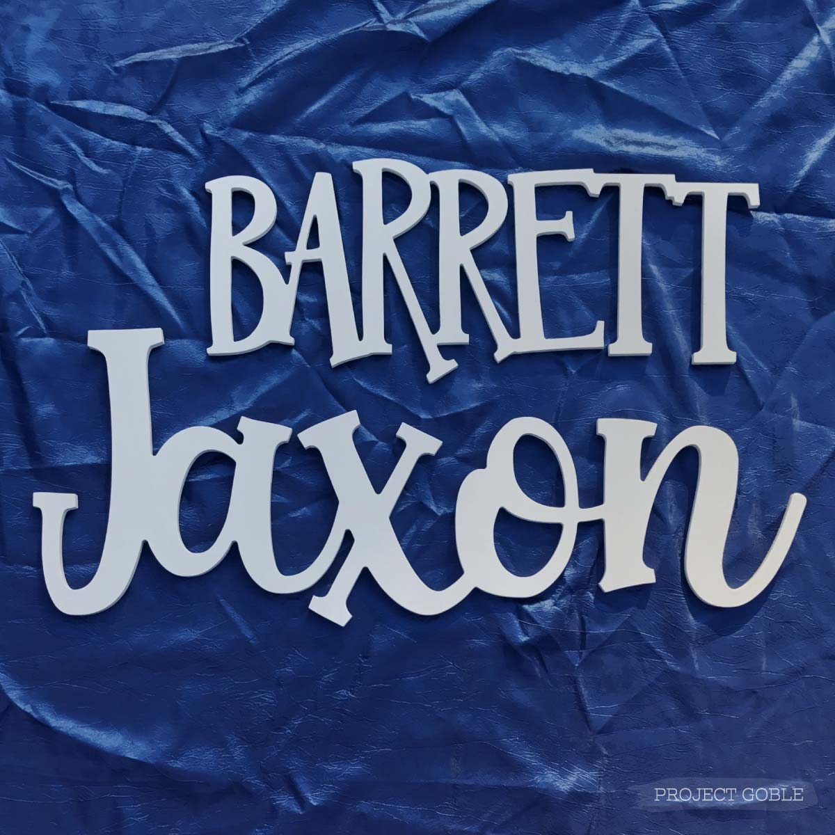 Wooden Name Cutout Sign For Nursery Or Kids Room