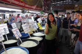 rice at the market