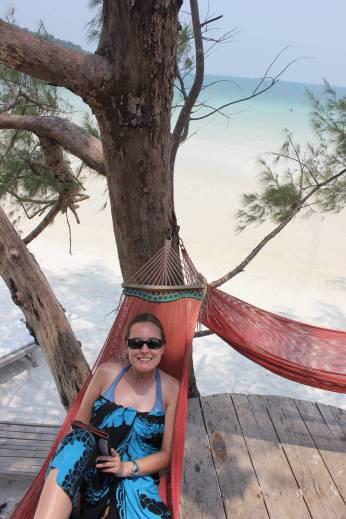 My tree house hammock