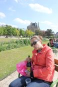 Picnicking with Belgian beers