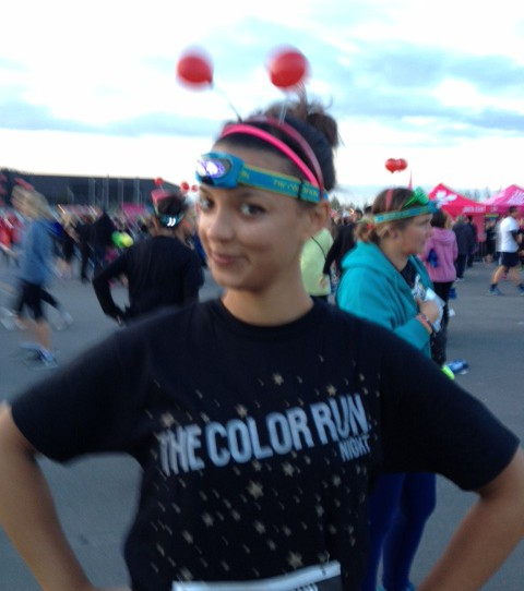 Project HB at the Night Colour Run London