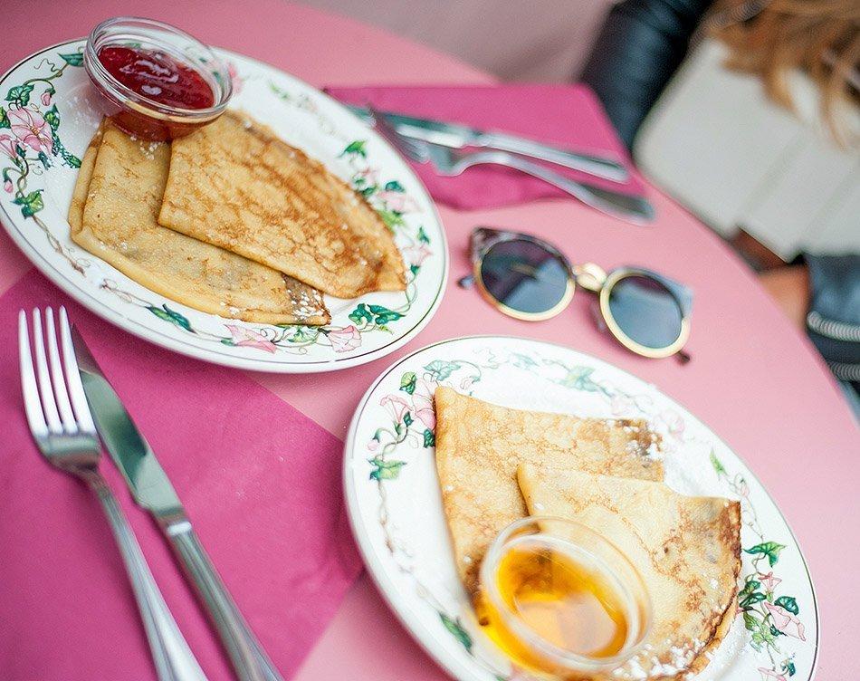 Cafe Le Rue Brunch Menu