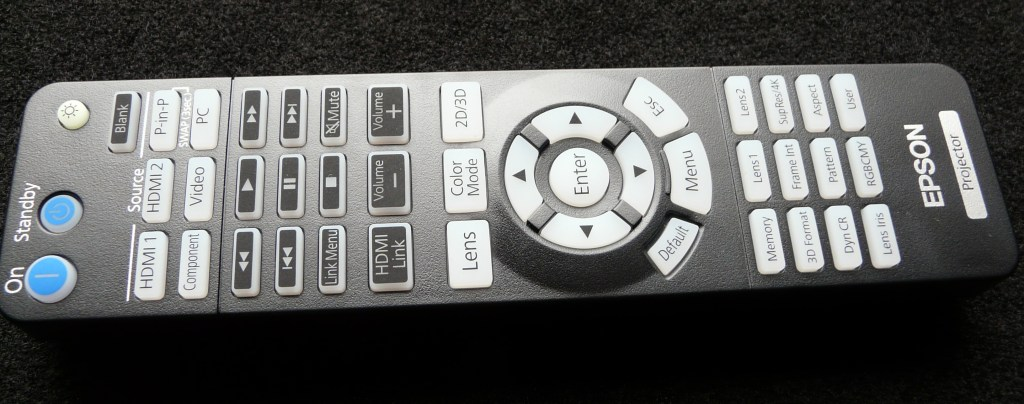 Epson EH-LS10000 remote control