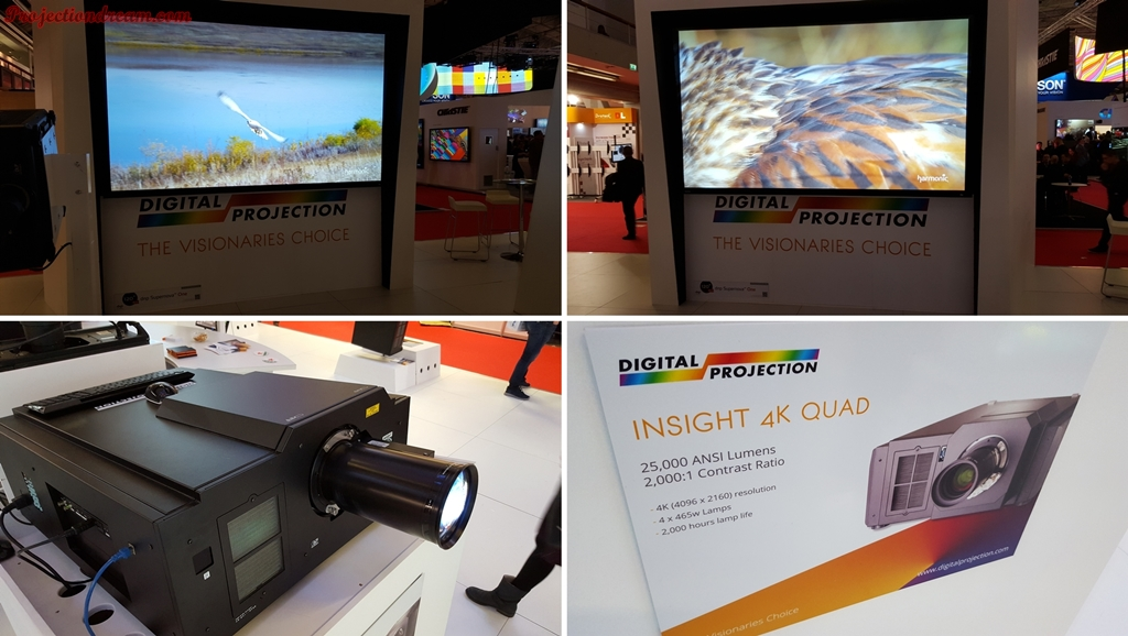 ISE 2016 Digital Projection Insight 4K Quad projector