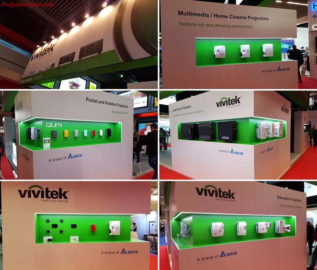 ISE 2016 Vivitek projectors