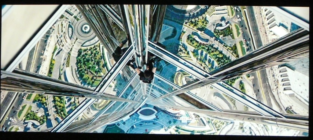 JVC X500 Screenshot Mission Impossible Ghost Protocol
