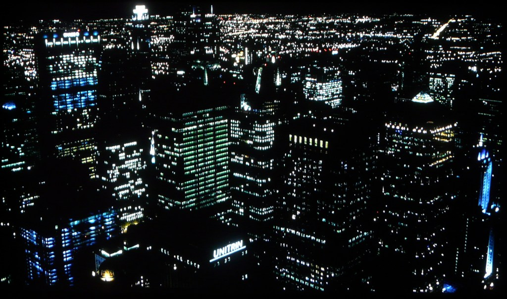 JVC X500 Screenshot The Dark Knight City Night