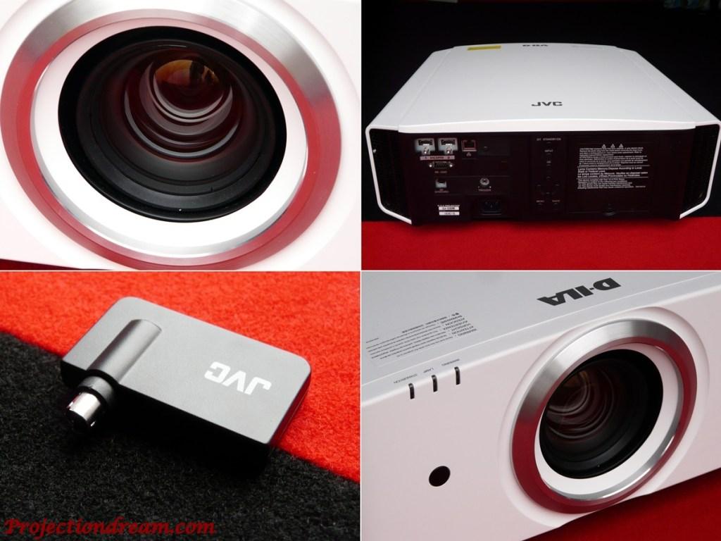 JVC DLA-X5000 lens