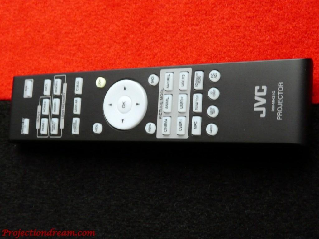 JVC DLA-X5000 remote control
