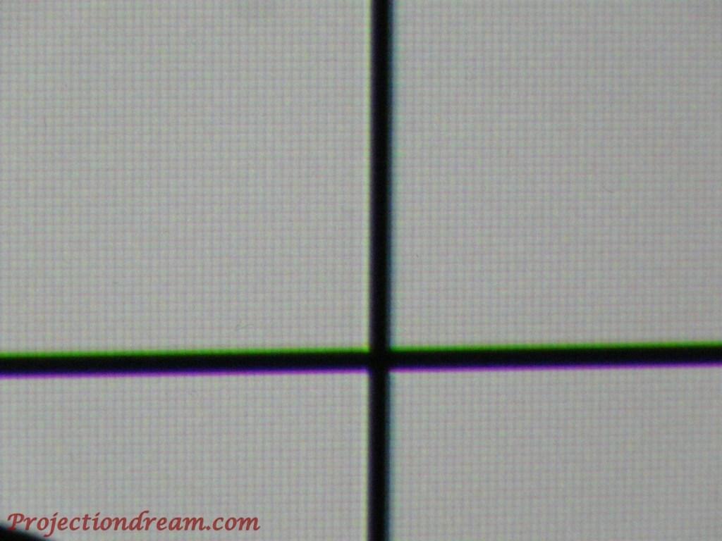 JVC DLA-X5000 Cross close e-shift off Enhance 0