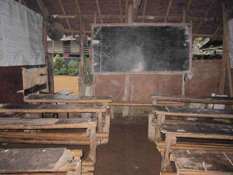 Classroom at High School No 1