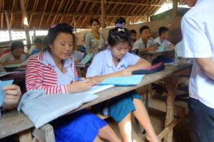 Students at Mae Ra Moe Refugee Camp