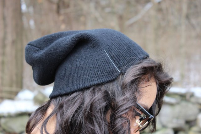 Beanies and bobby pins are best friends, just FYI.