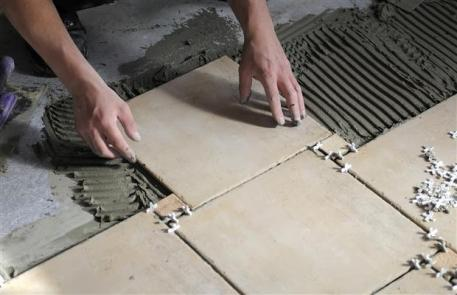 Safe Method Statement for installation of Ceramic Floor Tiles