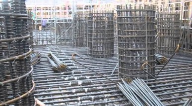 Reinforcement Bars requirement sizes and weight