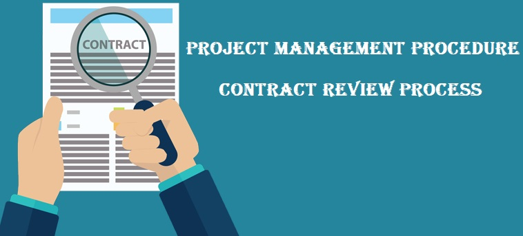 Project Management Procedure for Contract Review Process