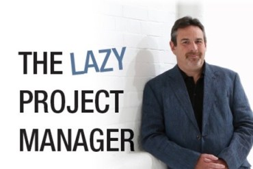 The Lazy Project Manager Book Cover Photo