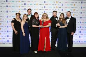 "APM Project Management Awards 2019 ""Overall Project of the Year"" Award Winners, the North Cumbria University Hospitals Trust & Cumbria Partnership NHS Foundation Trust – Maternity Information System"