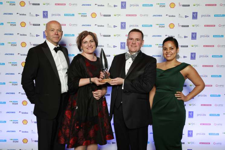 Proteus Learning Hub wins Innovation in Projects Award