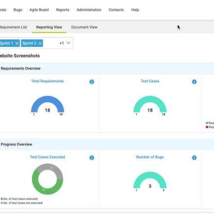 ReqTest New Requirements Management Module