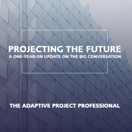 the adaptive project professional report
