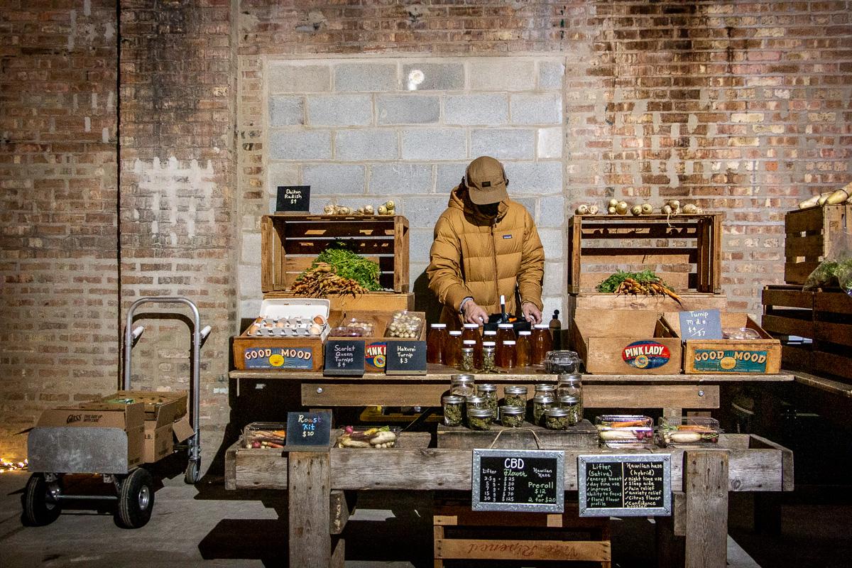 A Winter Warehouse