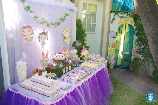 Fairy Woodland Themed Birthday Party Via Kara 39 S Ideas Karaspartyideas Com Cake Decor