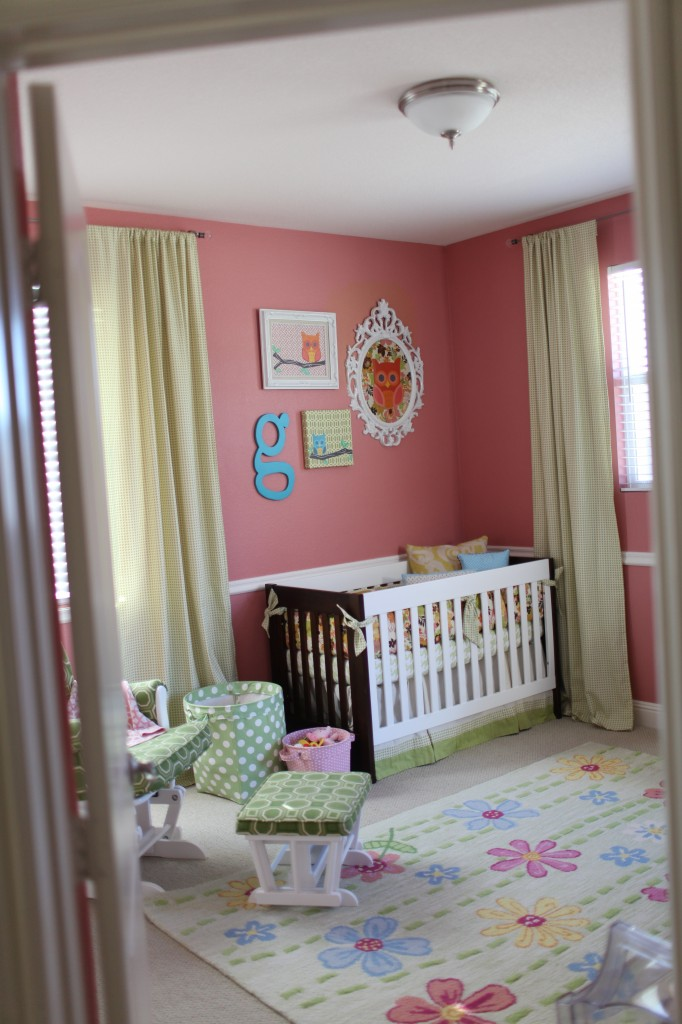 Vintage Modern Owl Inspired Nursery Project Nursery