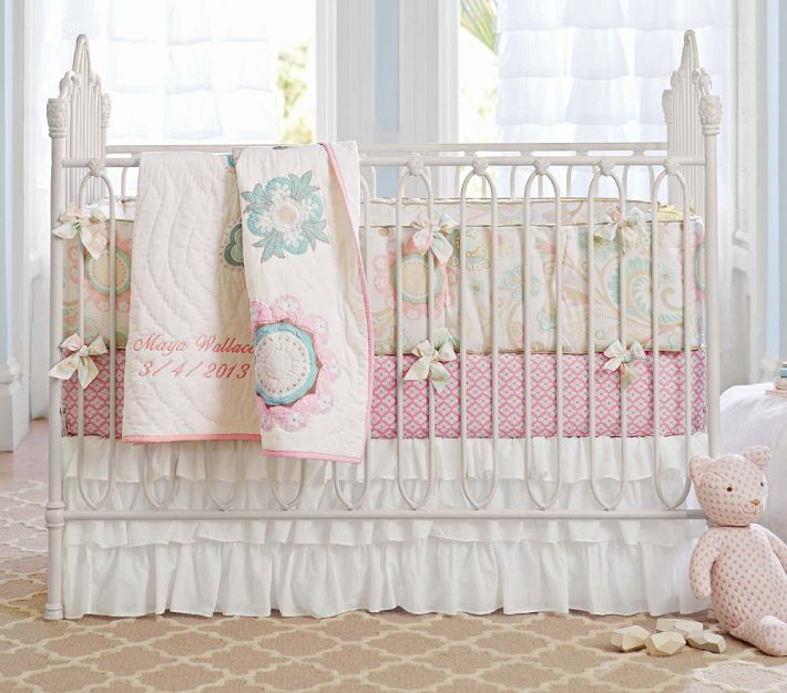 Pottery Barn Kids San Antonio Iron Cribs From Old World