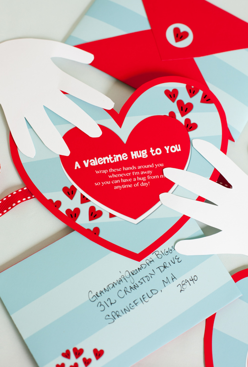 Free Valentine Printable Hug - Project Nursery