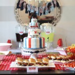 Beckham S Red Wagon 1st Birthday Party Project Nursery