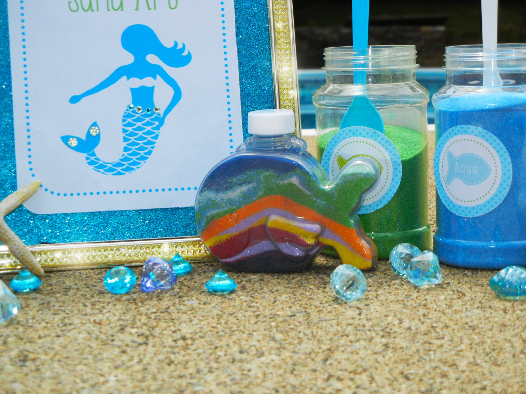 Mermaid Party Under The Sea Crafted Birthday Party